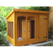 Pressure Treated Timber Cattery