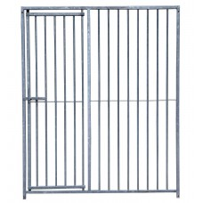 Galvanised Dog Run Gates