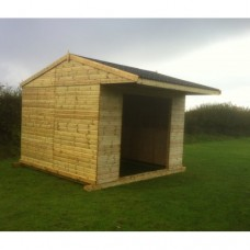 Mobile Field Shelter - 12ft x 12ft - Raffs