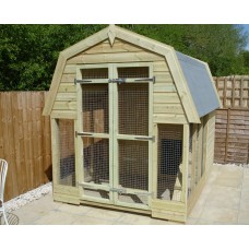 Dutch Barn Style Kennel