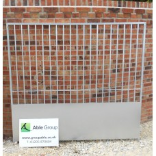 Galvanised Draught Screen Dog Panels